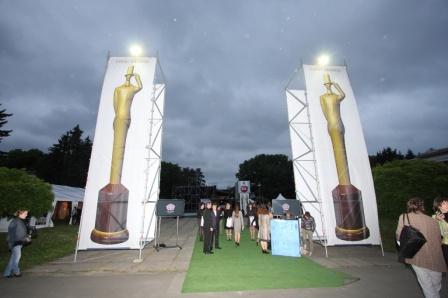 Центральный вход на церемонию